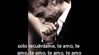 Letra de Te Amo Sergio dalma YouTube
