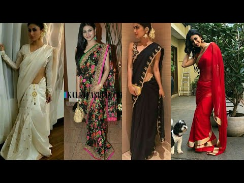 Video Mouni Roy Top Saree Collection download in MP3, 3GP, MP4, WEBM, AVI, FLV January 2017