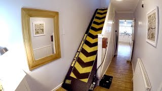 STAIRCASE TREADMILL The ultimate exercise machine