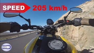 9. 2018 Yamaha XSR 900 / Acceleration, Top Speed and Best Exhaust Sound