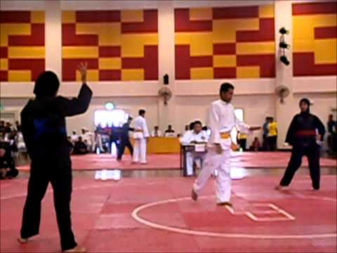pencak silat final UPSI vs UITM 2013