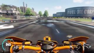 6. The Crew - KTM EXC 450 dirt bike, street, and raid spec