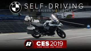 CES 2019: BMW's autonomous motorcycle doesn't need a rider | Self-driving bike by Roadshow