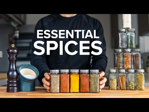 Beginner's Guide to Spices: Storage and Which to Get First