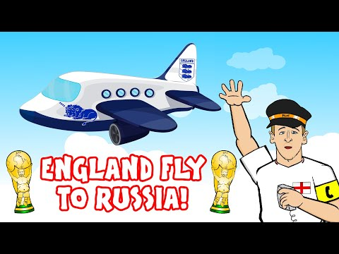 🛫ENGLAND FLY TO RUSSIA 2018!🛫 The Song! (Harry Kane's Plane World Cup 2018)