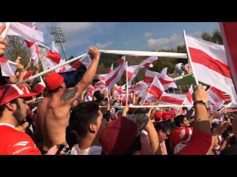 Salida a la cancha - Curico Unido vs Iberia [07-05-2016] - Los Marginales - Curicó Unido