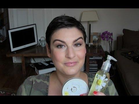 beaute Les nouveaux démaquillants Body Shop (beurre et huile) maquillage