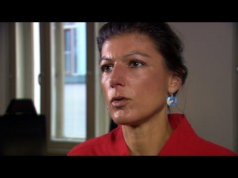 Sahra Wagenknecht (DIE LINKE) über Populismus und Hass  ...