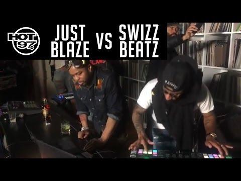 Swizz Beatz VS Just Blaze DJ Battle