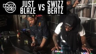 Swizz Beatz vs Just Blaze Beat making battle