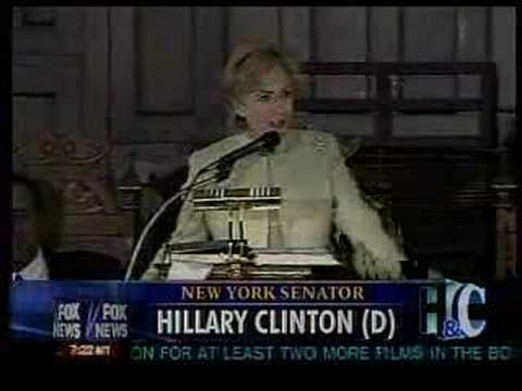 Hillary Clinton adopts a southern drawl (видео)