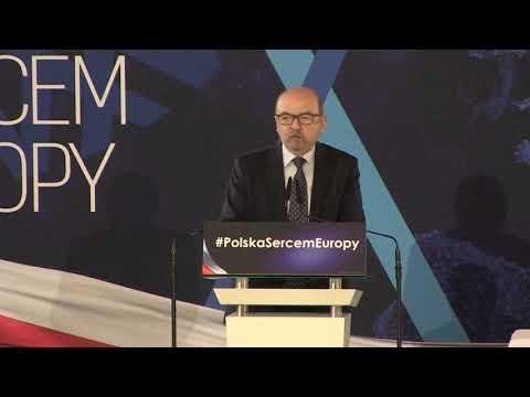 Wystąpienie Ryszarda Legutki w Krakowie