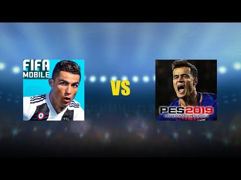 FIFA 19 Mobile Vs PES 19 Mobile (Gameplay)