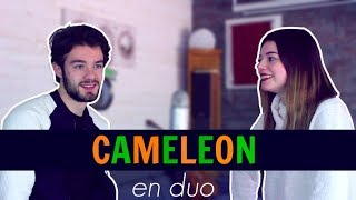 MAITRE GIMS - CAMÉLÉON (Api cover ft. Carole)