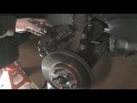 How to change automotive brake calipers. Pontiac Grand Am example.
