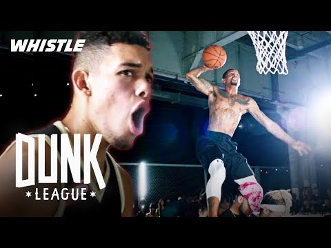 BEST Self Alley-Oop Dunks | $50,000 Dunk Contest
