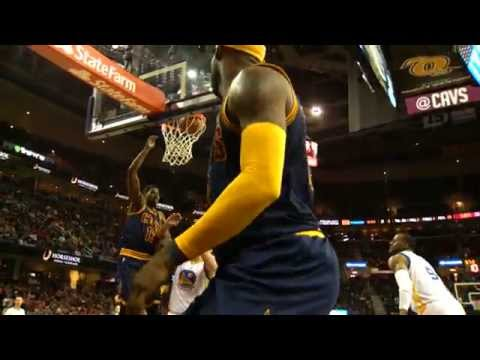 Video: Curry's Warriors Battle James' Cavs in Super Slow-Mo
