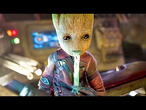 Groot Funny & Sad Death Scenes - Avengers: Infinity War 2018 HD Bluray