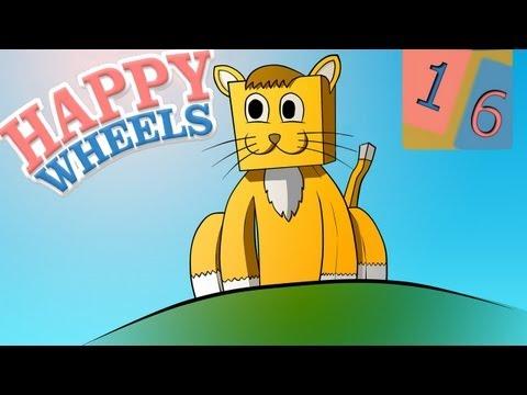 HappyWheels #16: Кот вернулся! (Mrk0tA)