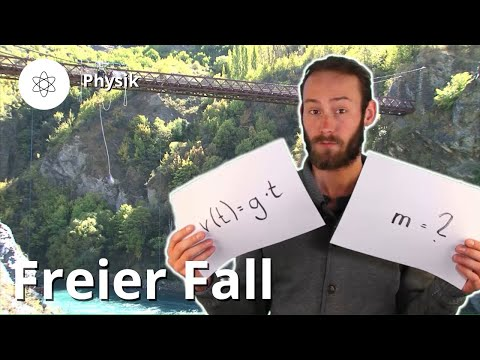 Freier Fall: Definition und Formeln – Physik | Duden Learnattack