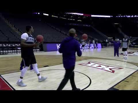2019 Big 12 Tournament: K-State Practice - 3/13/19