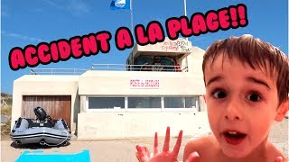 Video ACCIDENT A LA PLAGE - VLOG VACANCES ANGIE MAMAN 2.0 MP3, 3GP, MP4, WEBM, AVI, FLV Oktober 2017