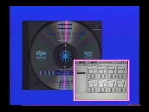 FM-TOWNS の世界 紹介ビデオ(1989年)