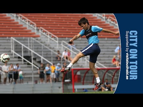 America - Manchester City players take part in a shooting drill during training in America. Subscribe for FREE and never miss another Man City video. http://www.youtube.com/subscription_center?add_user=mcfc...