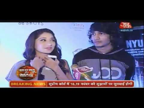 Video Vrushika and Shantanu at TellyCalendar'16 Launch Party By SBB - 5th November 2015 download in MP3, 3GP, MP4, WEBM, AVI, FLV January 2017