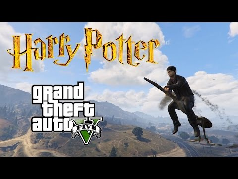 Harry Potter Becomes A Badass Gangster In This Game - GTA 5 Harry Potter Mod