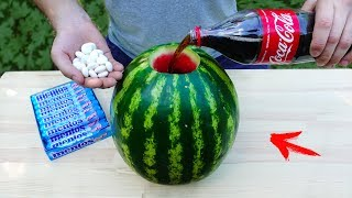 EXPERIMENT: Will Watermelon Explode ?