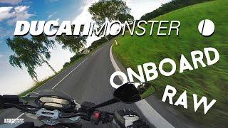 8. 2009 DUCATI MONSTER 696 RAW ONBOARD | GOPRO HERO3+ | ZOOM H1
