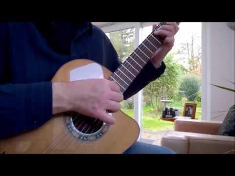 The Eiger Sanction Main Theme by John Williams - Guitar