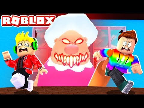 Escaping My DADS EVIL Grandmas House In Roblox