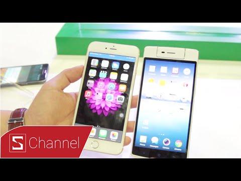 OPPO N3 vs iPhone 6 Plus : So sánh nhanh