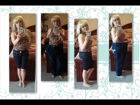 Mi ropa antes y despues de adelgazar.