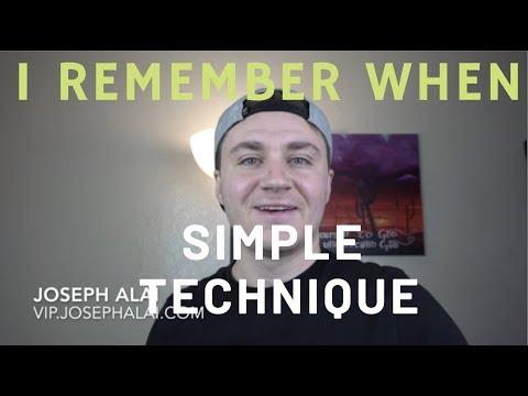 "SIMPLEST Manifesting Technique ""I REMEMBER WHEN"" Neville Goddard"
