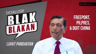 Video Luhut Blak-blakan Soal Freeport, Pilpres, dan Duit China!! MP3, 3GP, MP4, WEBM, AVI, FLV Juli 2018