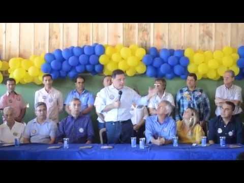 Marconi Perillo pede votos para Vando Vitor prefeito 45 em Palmeiras de Goiás