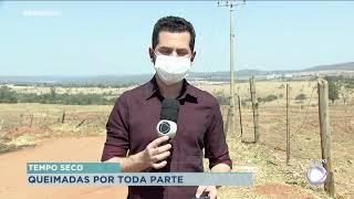 Ocorrências de incêndio no Centro-Oeste Paulista