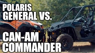 3. Polaris General 1000 vs. Can-Am Commander 1000