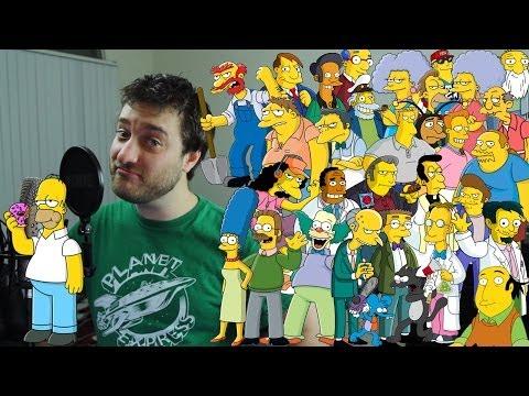 33 Simpsons Impressions