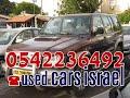 טלפון 0542236492 Isuzu מכוניות יד 2 למכירה במצב מצויין