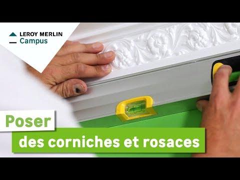 Comment poser des corniches et rosaces ? | Leroy Merlin