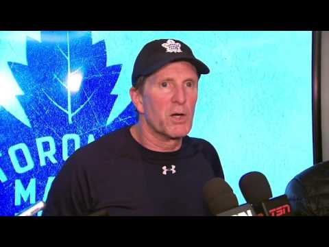 Video: Babcock jokingly takes credit for Marchand's success