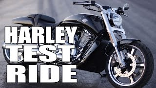 7. Test Ride: Harley-Davidson V-Rod Muscle