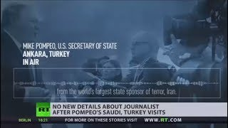 Nonton No Need To Rush Investigation Into Missing Saudi Journalist   Pompeo Film Subtitle Indonesia Streaming Movie Download
