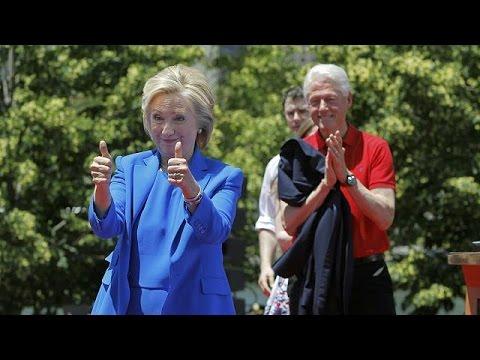 Ν. Υόρκη: H Χίλαρι Κλίντον στην πρώτη της προεκλογική ομιλία