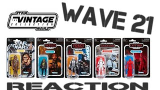 8. Star Wars Vintage Collection WAVE 21 REACTION (2019 TVC Wave 5)