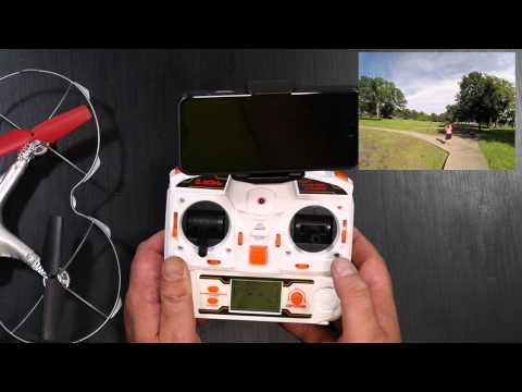 Holy Stone® FPV RC Quadcopter with 0.3M camera